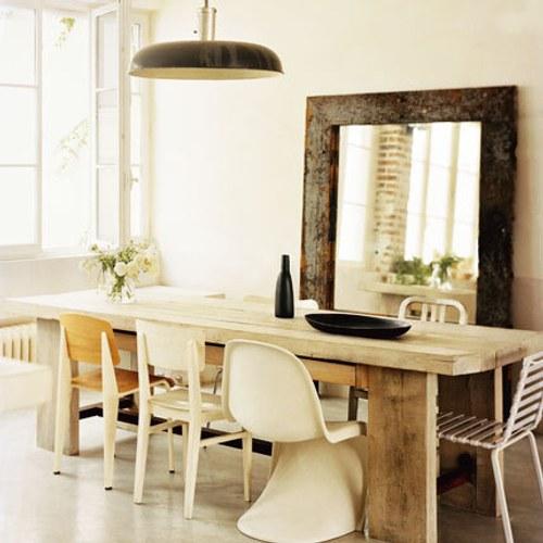 Sillas dispares en el comedor amor por la decoraci n for Comedor sillas diferentes