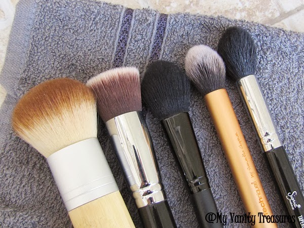 Favorite face makeup brushes