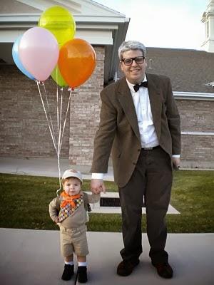 Disfraz Up padre e hijo