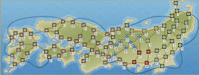 百万人の信長の野望新地図比較