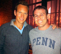 UPenn and Patrick Wilson and A Gifted Man and CBS and Zach Lutsky
