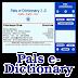 PALS e-DICTIONARY - Tamil