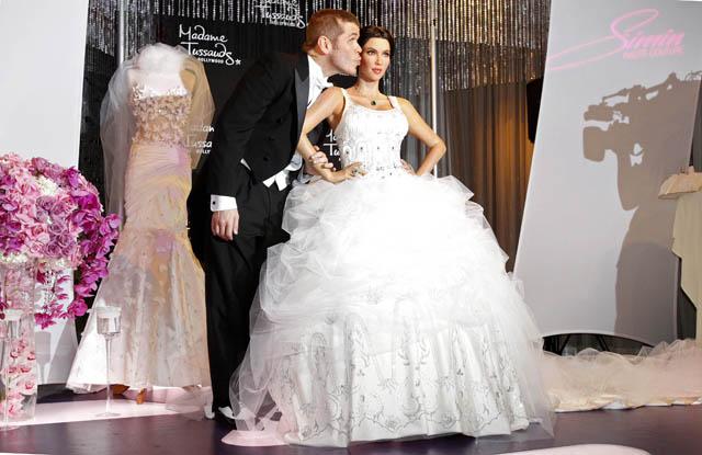 novias y mucho más: novias: el vestido de kim kardashian