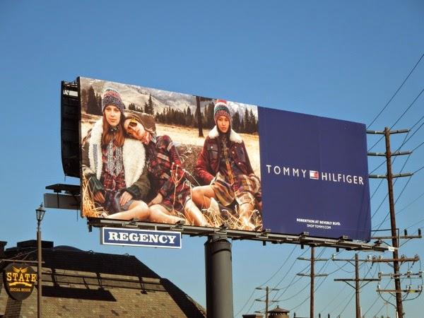 Tommy Hilfiger FW 2014 fashion billboard