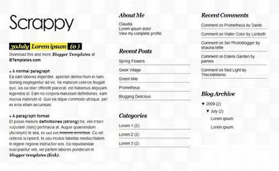Download Template Blogger Magazine Ringan Terbaru