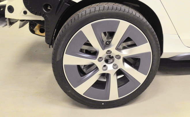 Volvo V60 Hybrid wheel