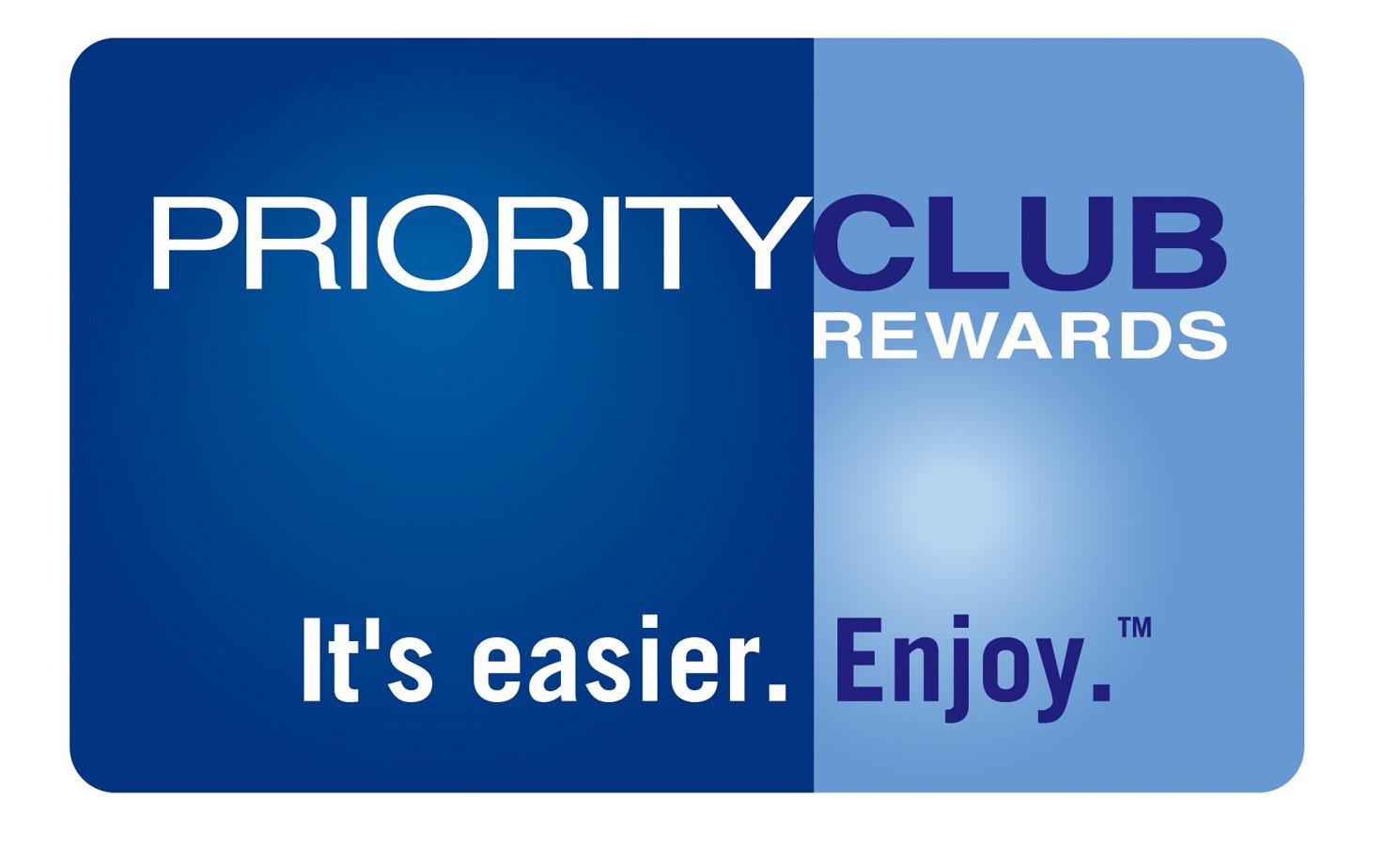 Priority Club Rewards Loyalty program card, then / Карта программы лояльности, раньше