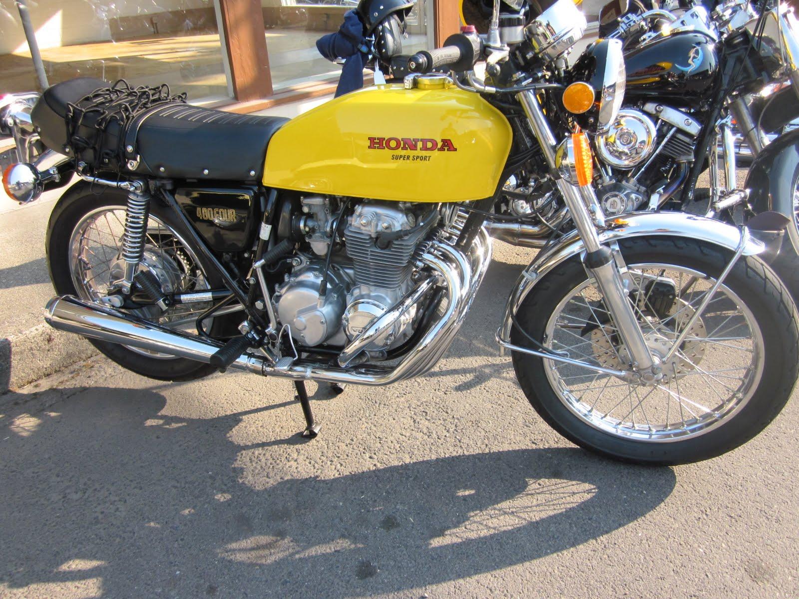 OldMotoDude  Honda CB400 Super Sport  2011 Isle of Vashon