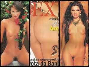 Luiza Ambiel nua na Sexy Especial de março 1997