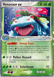 Venusaur EX FireRed and LeafGreen Pokemon Card Set