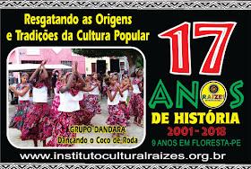 AÇÕES DE 2010 A 2012 - INSTITUTO RAÍZES