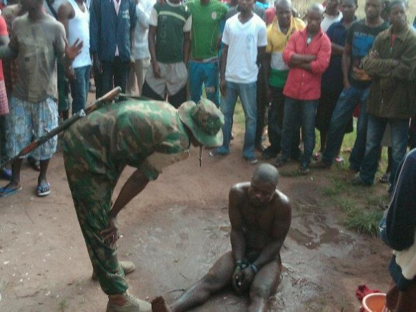 Photo: Ram Thief Served Jungle Justice During Sallah Celebration