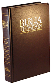 BIBLIA DE REFERENCIA THOMPSON EN ESPAÑOL