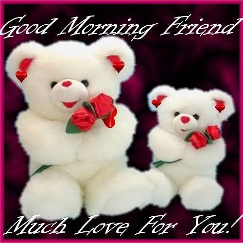 Friendship Greetings: Good Morning Friend