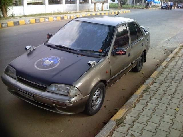 Modifikasi Mobil Suzuki Esteem Keren