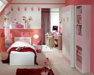 Floral Design For Girls Bedroom