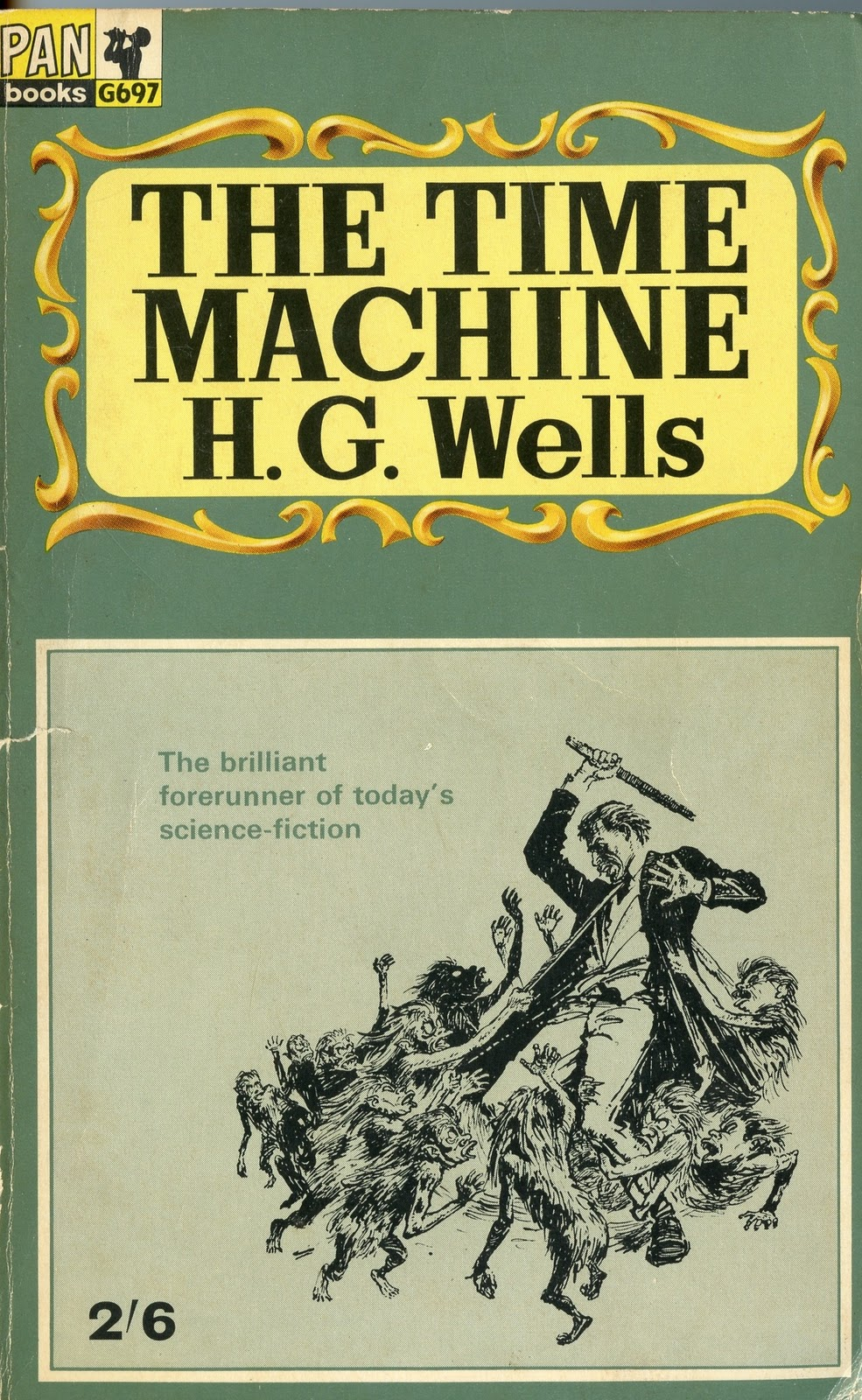 a review of the time machine by hg wells