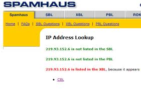 Cara Menghapus Spam IP Address