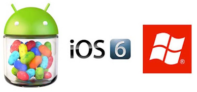 Android 4.0 Ice Cream Sandwich VS iOS6 VS Windows Phone 8