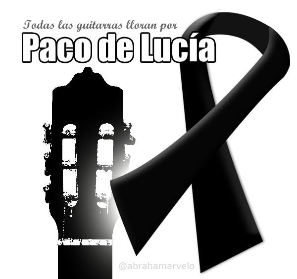 Todas las guitarras lloran por Paco de Lucía