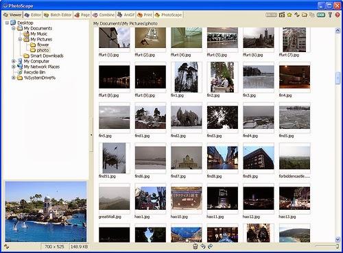 تحميل برنامج عرض وتحرير وتنظيم الصور مجاناً Photoscape 3.6.5