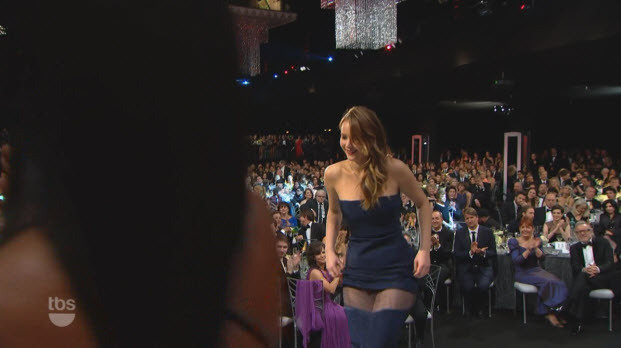 Jennifer Lawrence supposed wardrobe malfunction