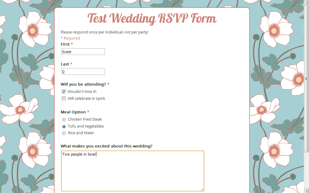 Create Your Own Online RSVP Form Using Google Forms