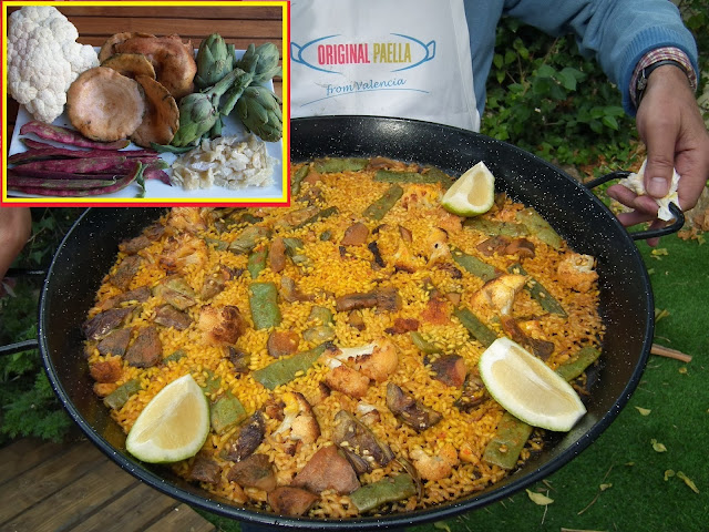 ORIGINAL CAULIFLOWER, COD AND SAFFRON MILK CAPS PAELLA