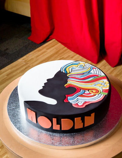 Milton Glaser Birthday Cake