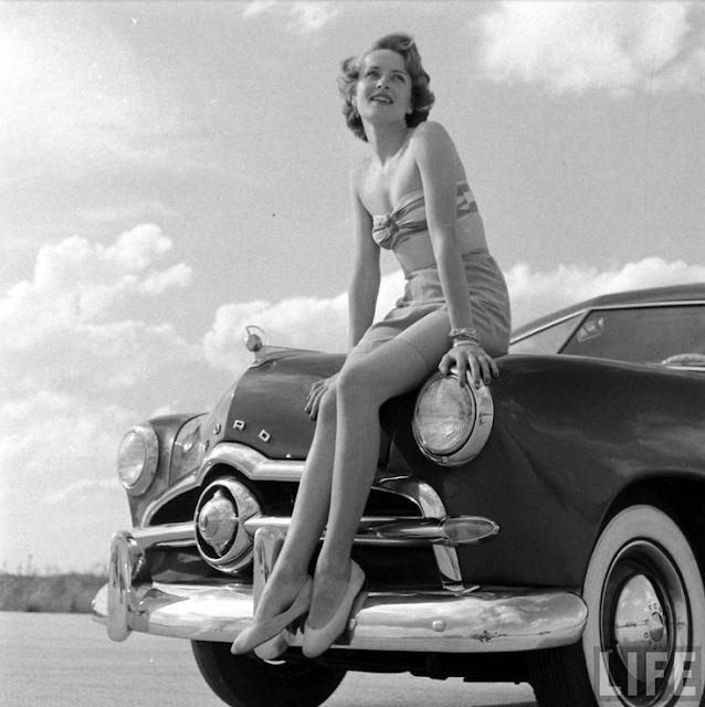 1950s Life Magazine Photo #vintage #1950s #pinup #photo #fashion