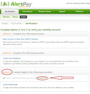 alertpay account verification