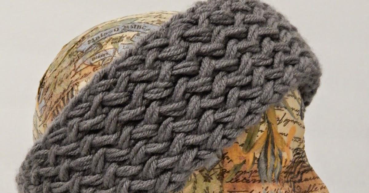 Reversible Headband Knitting Pattern : Jovial Knits: Loom Knit Reversible Super Chunky Headband