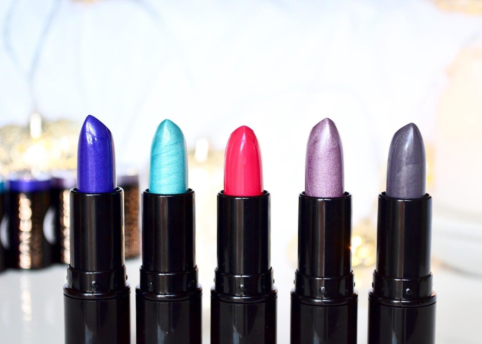 Makeup Revolution, Makeup Revolution Unicorns Unite Lipsticks, Lipsticks, Unicorns Unite, Makeup, Lipstick Collection, Collection, Review,