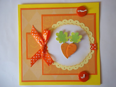 Vegetable Themed Card