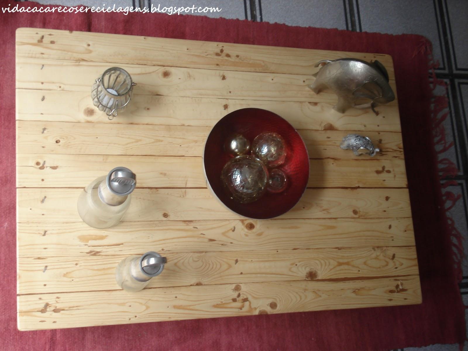 Reciclagem de paletes: Como fazer uma mesa de centro e #987633 1600x1200