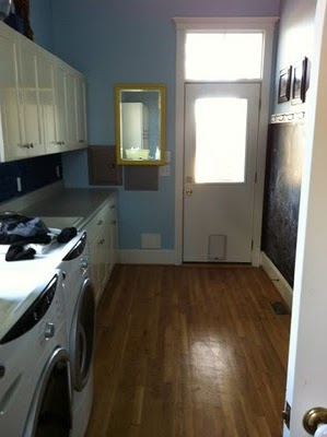 Before & After: Laundry Room Floor