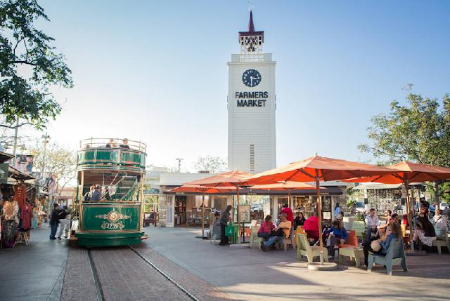 Mercado Farmers em Los Angeles