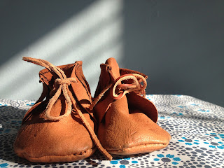 Handmade Baby Moccasins