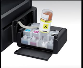 Sistem Infus terbaru L565 dengan ukuran tampung banyak tinta