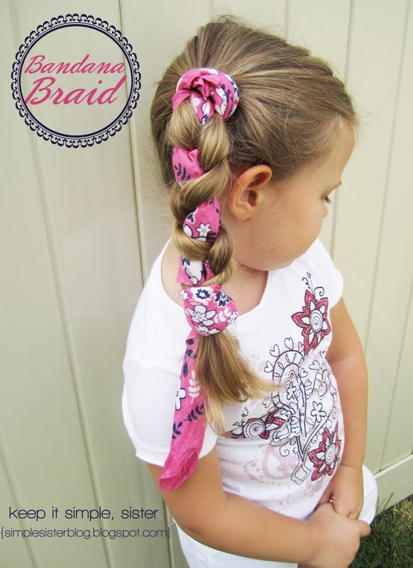 Ah Summer Hair Styles Arent They Fun Braids Seem To Be A Big Deal This But Theyve Always Been Tops In My Book The Bandana Braid Is Favorite