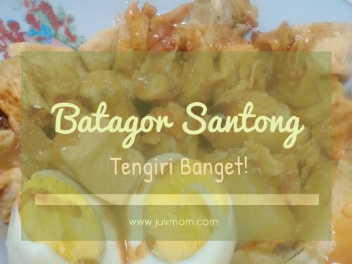 Batagor Santong Tengiri Banget!
