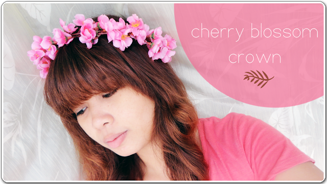 Cherry Blossom Crown