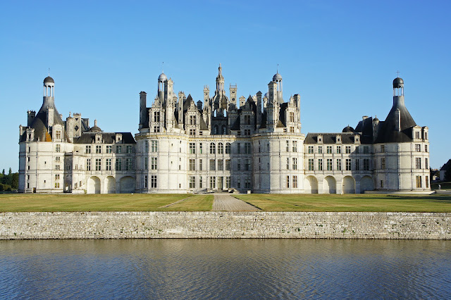 chateau chambord, france