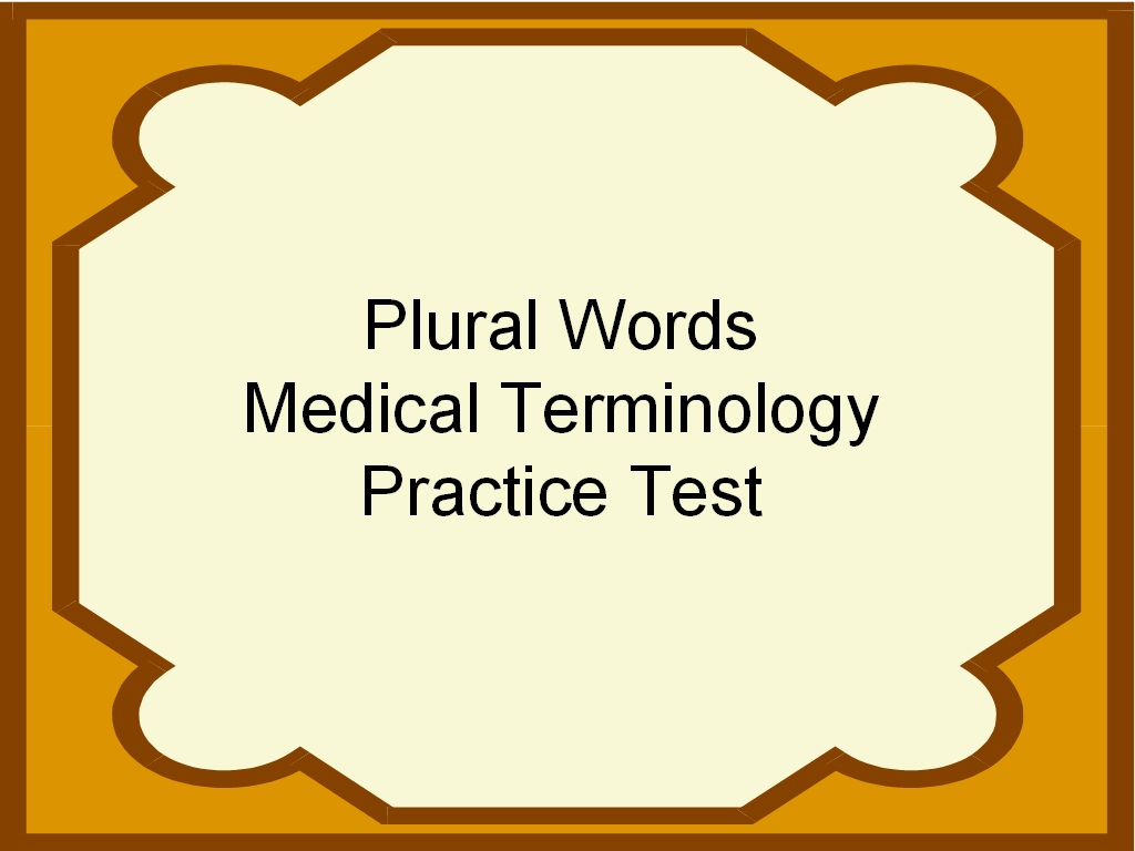 photograph relating to Printable Medical Terminology Flash Cards named College student Endure 2 Be successful: Totally free Healthcare Terminology Coach