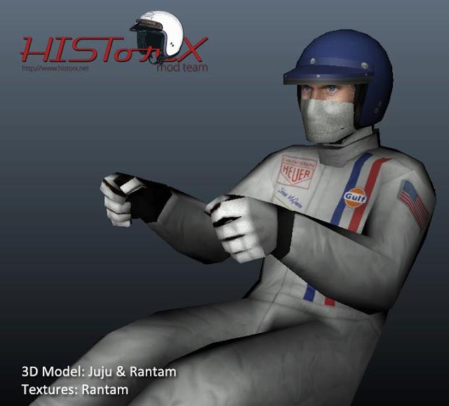 rFactor mod HistorX 2.0  Pilotos