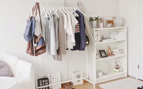 Decora o araras de roupa substitui guarda roupa Home ubrania