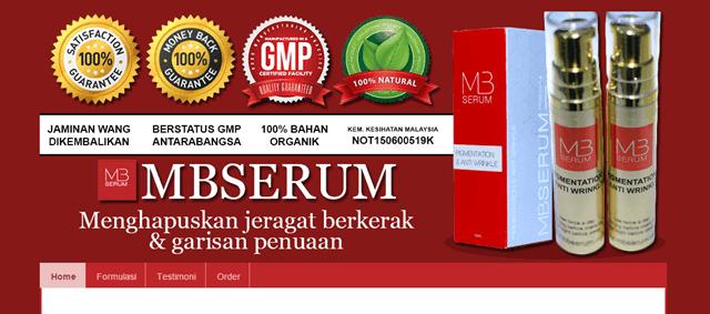 Tempahan Design Blog MBSERUM Ajaib