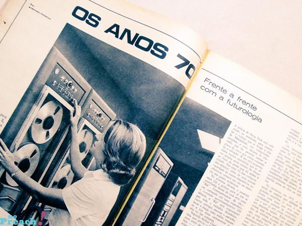 revista de moda antiga - anos 70