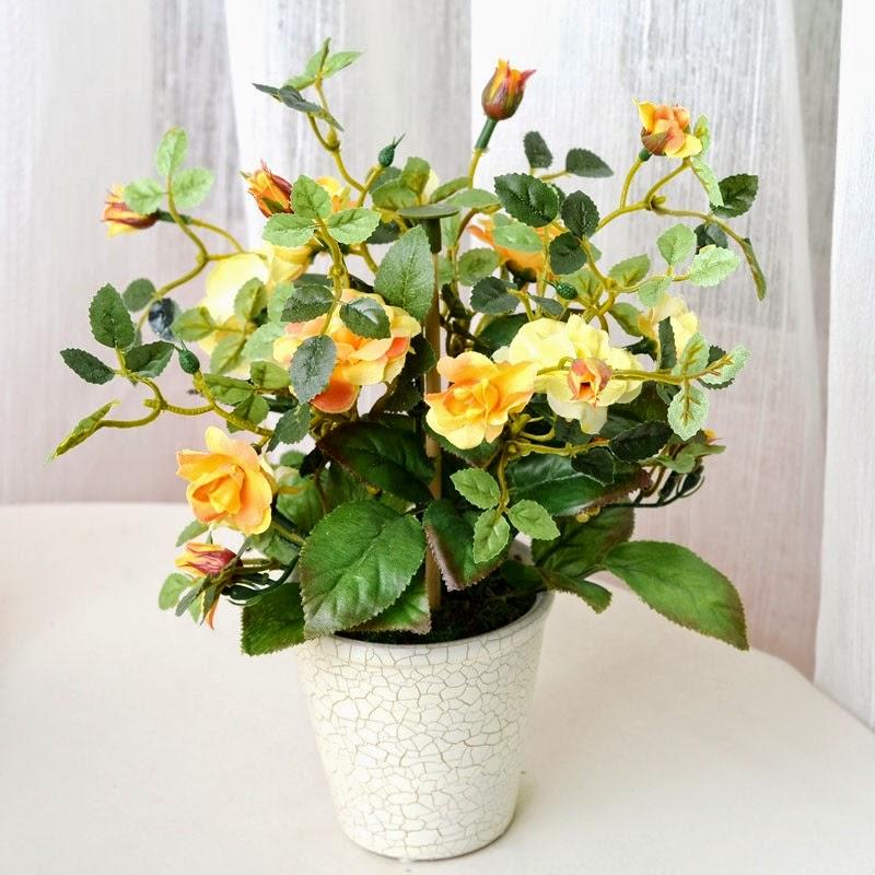 Decoração com plantas artificiais 7