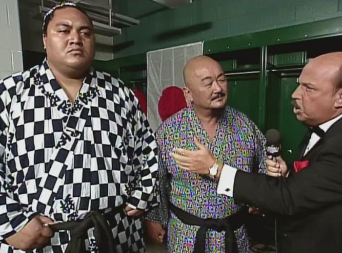 WWF / WWE King of the Ring 1993: Mr.Fuji promised that Yokozuna would defeat WWF Champion Hulk Hogan